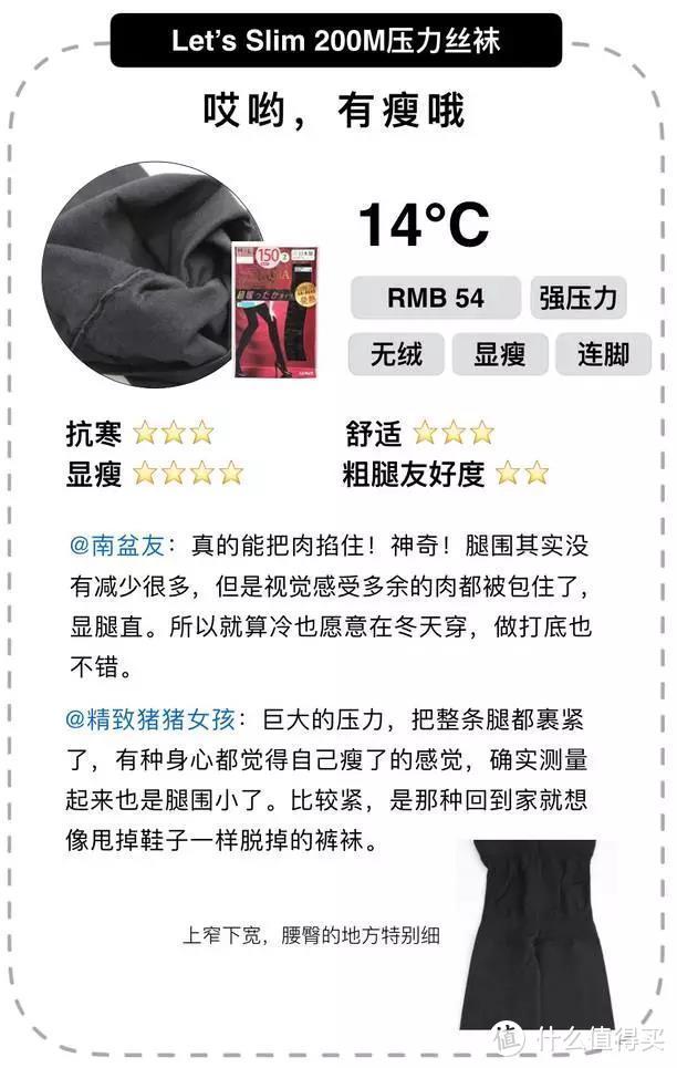 中年少女不为秋裤妥协,22条保暖显瘦打底裤测评!