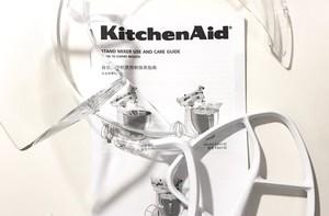 Kitchenaid厨师机测试过程(揉面|打发蛋清|冰激凌)