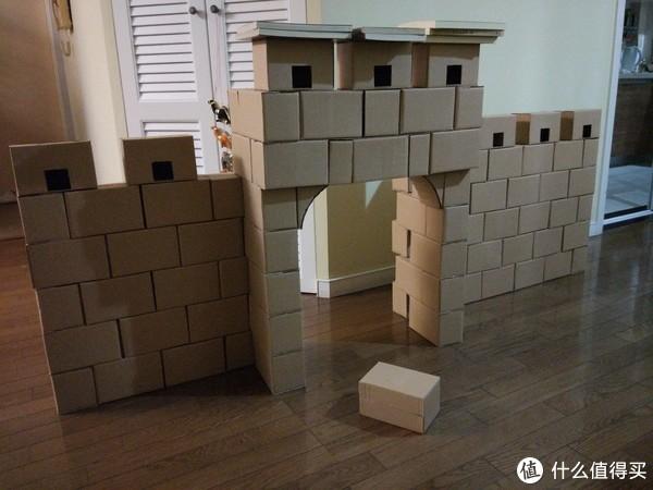六个夜晚,打造一段纸盒长城