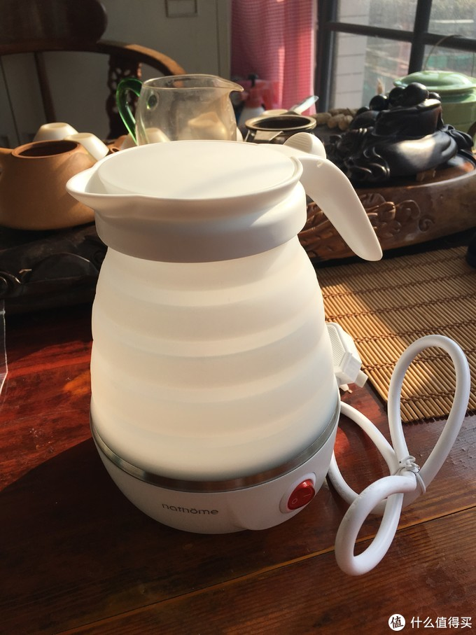 刚好遇见你---北欧欧慕折叠电热水壶