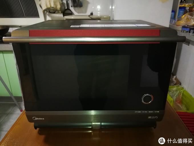 #原创新人#全网首发,Midea美的蒸立方(水波炉)X7-321D开箱