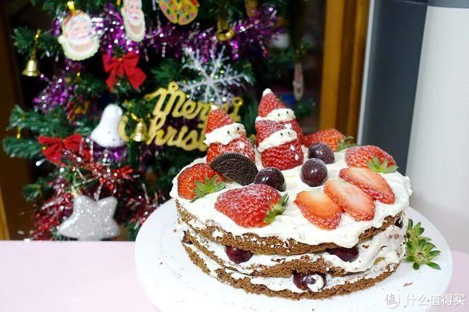 零失败!手把手教你瞬间提升过节气氛的圣诞裸蛋糕!