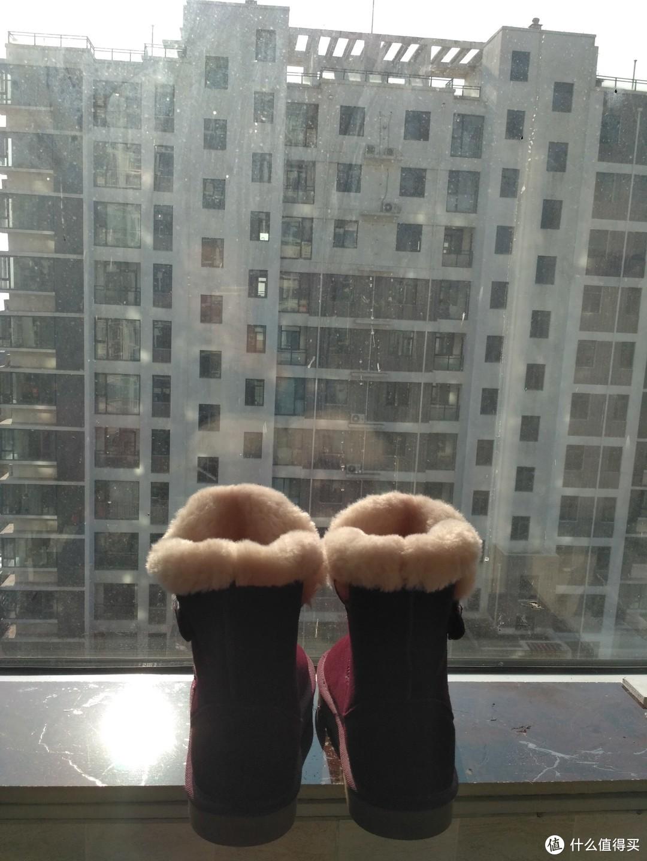 #晒单大赛#领了张大妈给的优惠券,去macy's梅西中国官网买了双Style&Co仿皮草边短靴