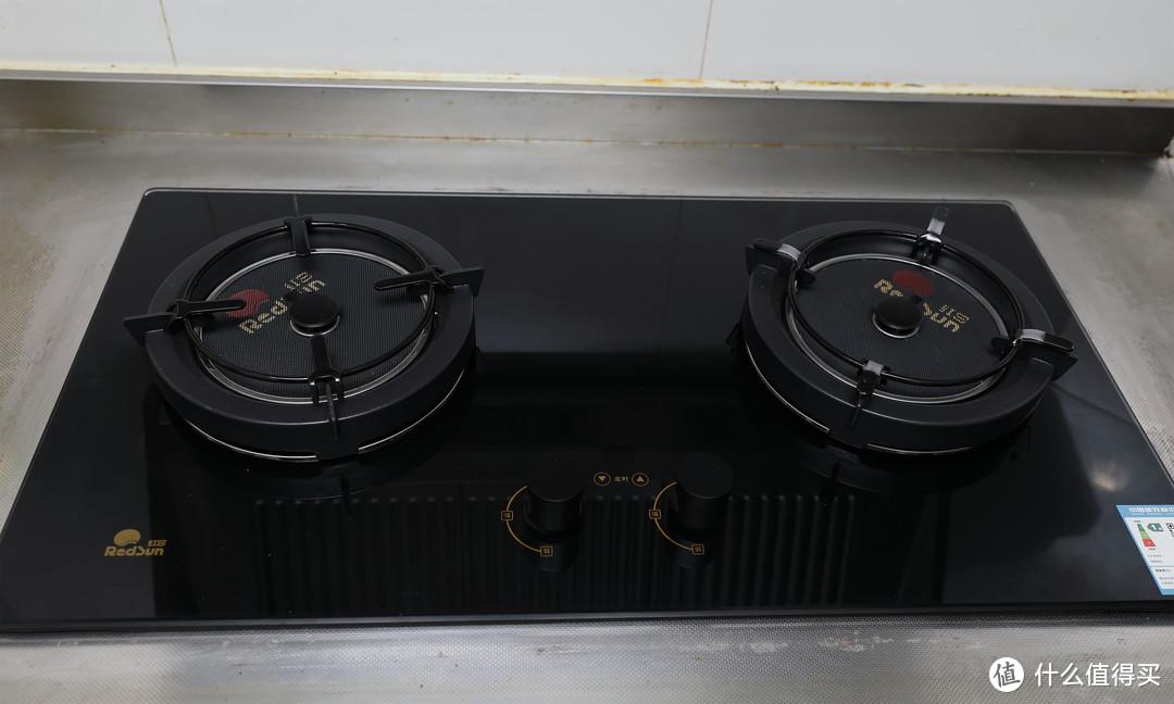 #晒单大赛#红日EC018B红外线燃气灶嵌入式天然气红外灶