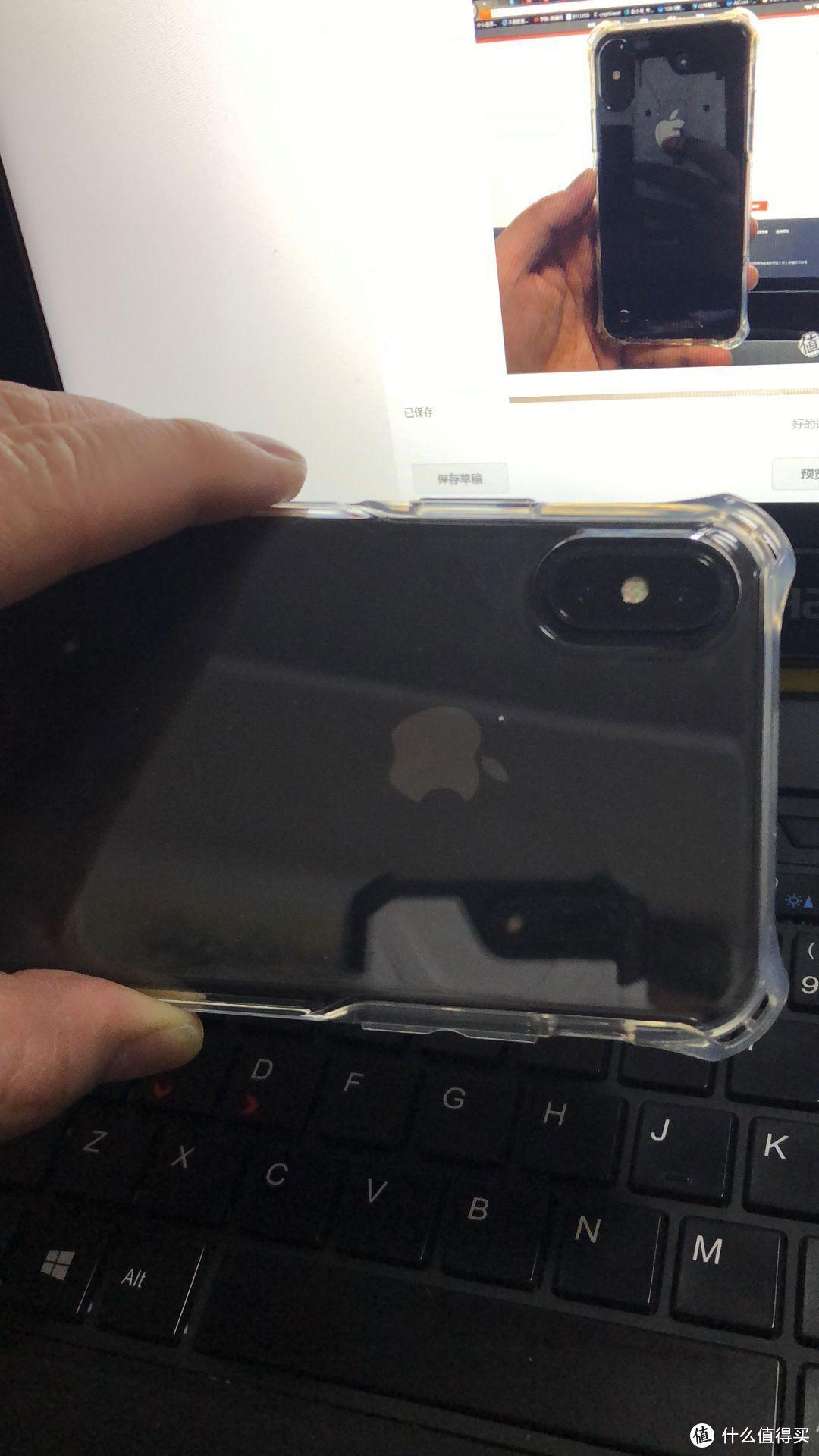 """iphoneX的保护套-----LECOM """"零冲击""""手机壳透明版实测体验报告"""
