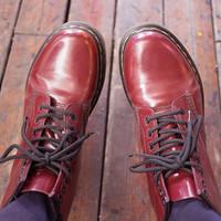 Dr.Martens 1460 smooth 马丁靴使用感受(脚掌|后脚|鞋底)