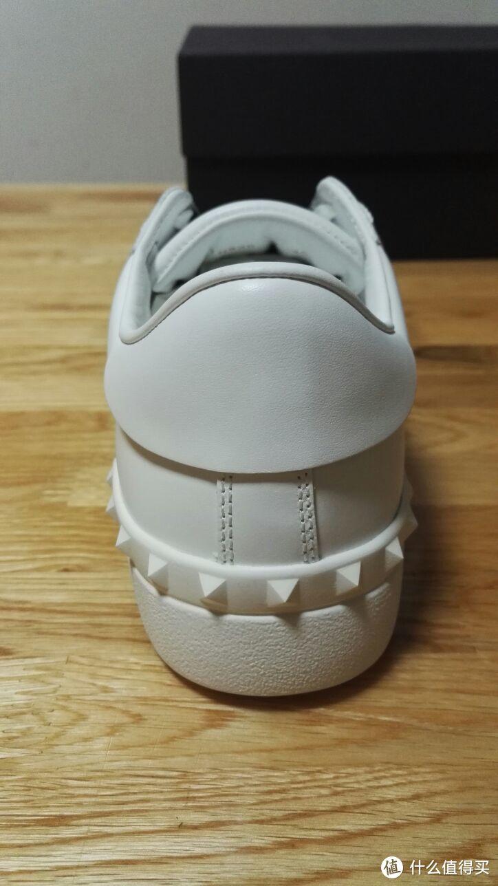 #晒单大赛#2017年压轴剁–小白鞋之valentino 华伦天奴  open 板鞋