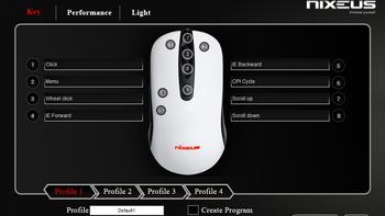REVELrev-bk16游戏鼠标产品设置(键位|录制宏|灯光|加速度|刷新率)