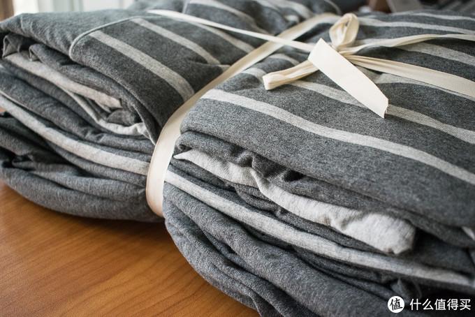 亲肤柔暖,不会缩水,针织全棉四件套体验
