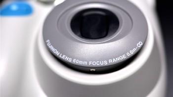 富士 Checky 趣奇 instax mini7S 拍立得相机产品细节(镜头|快门|取景窗|电池仓|手柄)