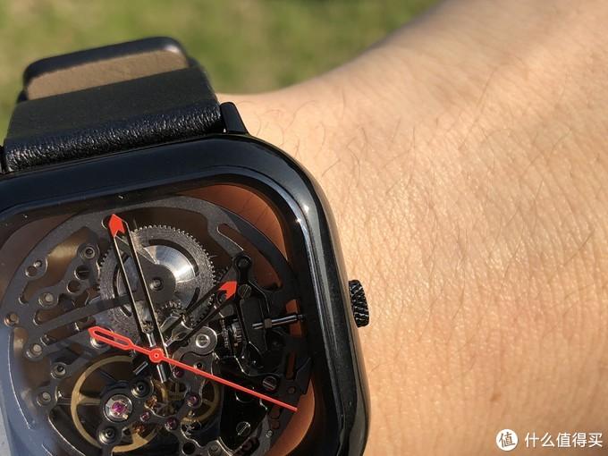 你可以选的其实不多 千元级CIGA Design全镂空机械腕表体验