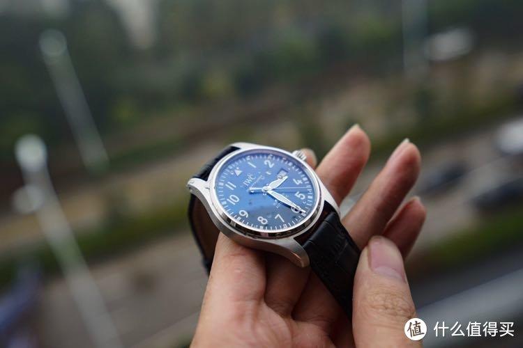 IWC 万国 IW327004 飞行员系列 夜光蓝 马克18小王子 男款机械手表