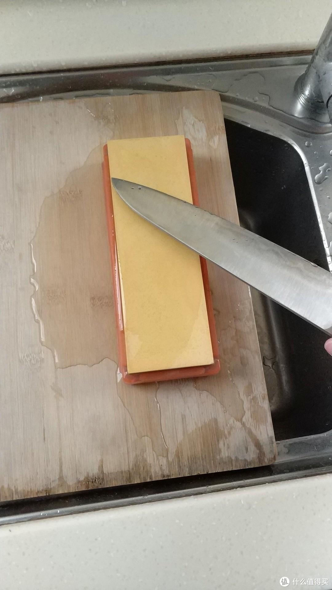 #原创新人#迟到的双十一KAI 贝印 厨刀 开箱简评及个人厨刀研磨介绍