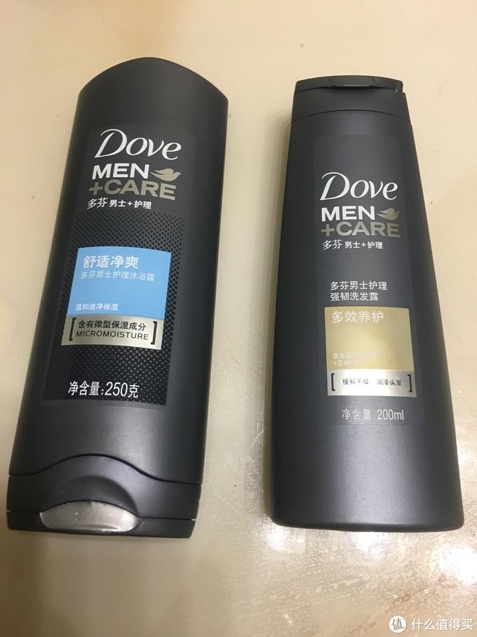 【男人就该对自己狠一点】多芬Dove男士沐浴露+洗发露简单众测