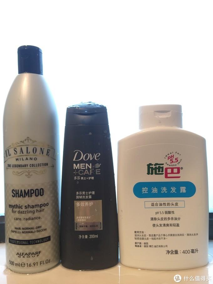 多芬男士沐浴露+洗发露套装开箱及产品对比