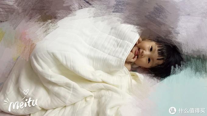 儿童浴巾新升级,满分妈妈必选—淘宝心选全棉纱布浴巾测评