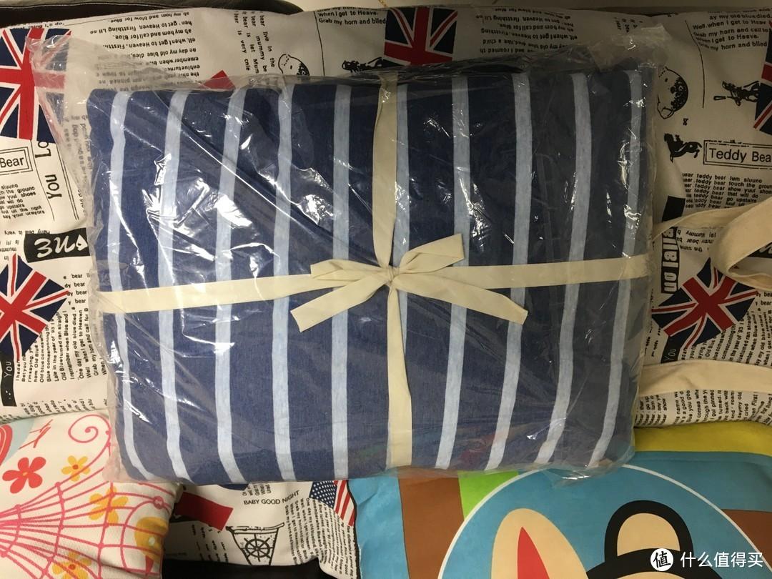 淘宝心选 尼特条纹全棉针织床上四件套(1.5M)使用心得
