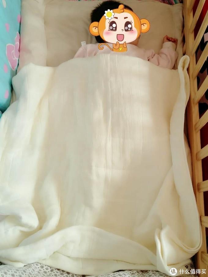 带来爱和温度---淘宝心选6层儿童纱布浴巾 轻众测