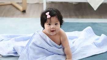 宝宝的安全舒适之选——【淘宝心选】6层儿童纱布浴巾