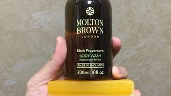 MOLTON BROWN 冒险系列 沐浴露3件套使用总结(香味|开关|泡沫)