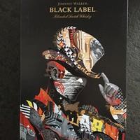 Johnnie Walker 尊尼获加 黑方 威士忌外观展示(酒杯|礼盒)