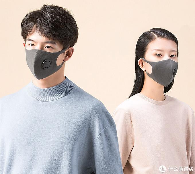 蓝天白云的冬日和谐社会下你还需要这样的口罩么?