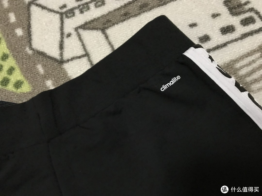 浮夸秀logo!Adidas 阿迪达斯 训练休闲针织收脚长裤 开箱