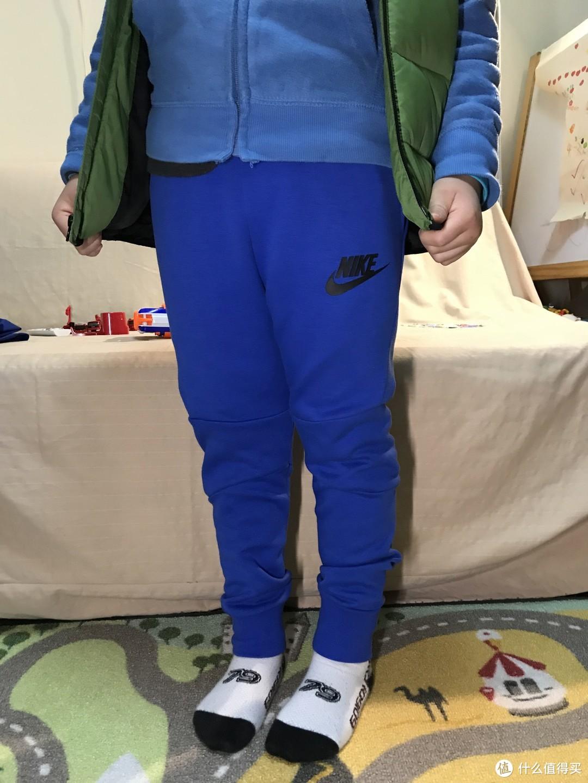 NIKE 耐克 大童针织运动休闲束脚裤 晒单