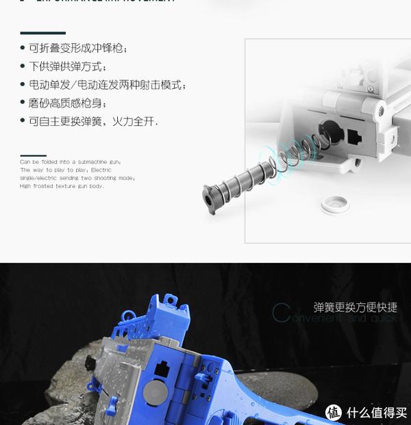 新威尔G36C水弹枪