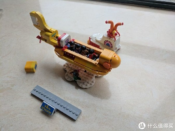 #原创新人#乐高巨坑入不得!记自己的第二款乐高开箱+搭建:LEGO 乐高 21306 黄色潜水艇
