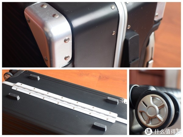 京造 20寸全PC铝框 拉杆箱 上手体验