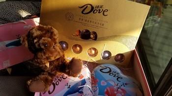 送礼佳品——德芙(Dove)巧克力马卡龙+尊慕礼盒组合装 轻体验