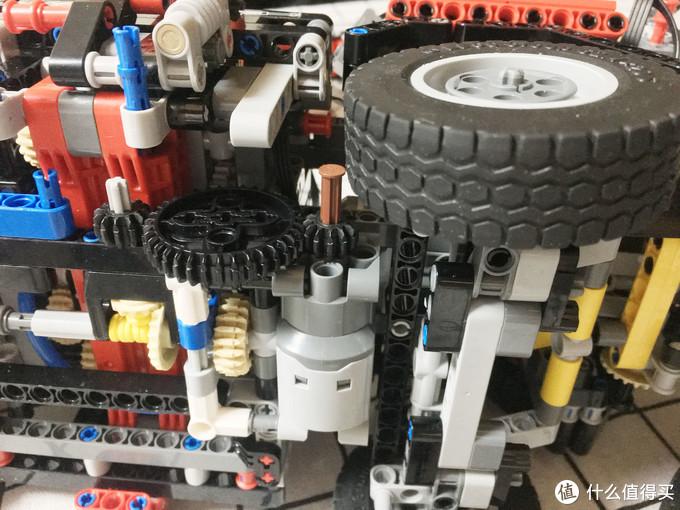保留原版外观+功能 LEGO 乐高 42043 动力遥控改装