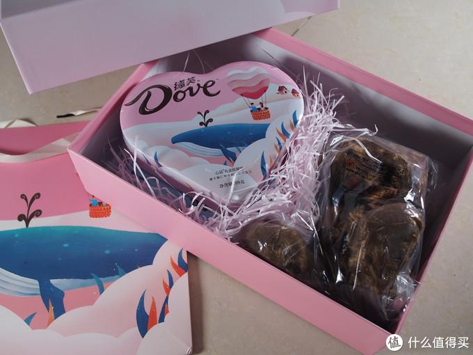金装与爱意的新丝滑——德芙(Dove)巧克力礼盒组合装 马卡龙礼盒+尊慕礼盒