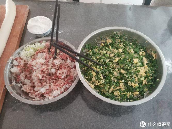 最传统的中式早餐——自制煎包配自制豆浆