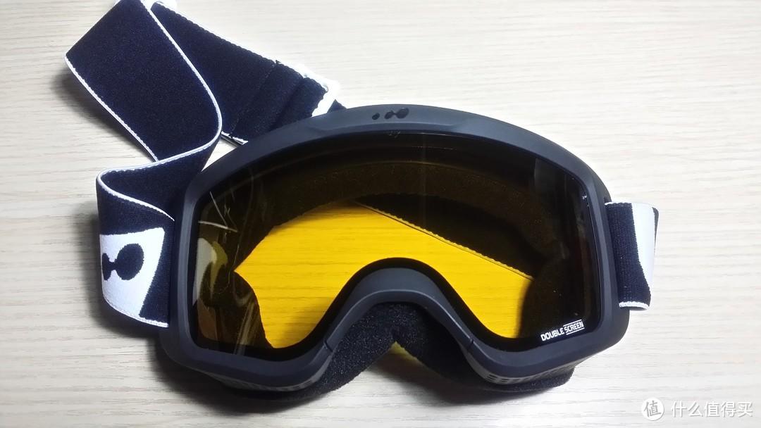 Decathlon 迪卡侬 滑雪镜 简晒