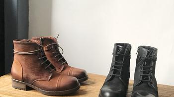 其乐 Newby Jump 男士工装靴购物细节(拉链|鞋帮|包装)