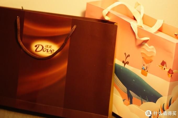 愿与TA纵享丝滑  德芙(Dove)巧克力礼盒组合装 马卡龙礼盒+尊慕礼盒