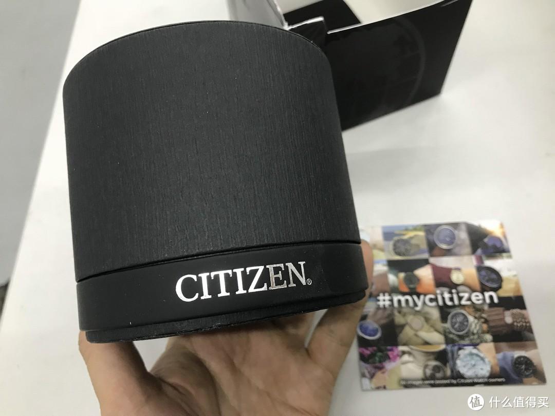 首次体验光动能:CITIZEN 西铁城 Sapphire Collection AT2141-52L 男士光能动腕表 晒单
