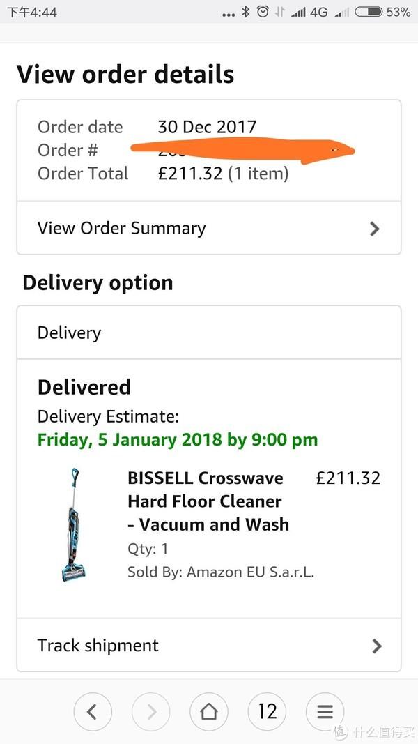 英亚海淘:小神价入手 Bissell 必胜 Crosswave 1713z 干湿两用吸尘器 开箱评测