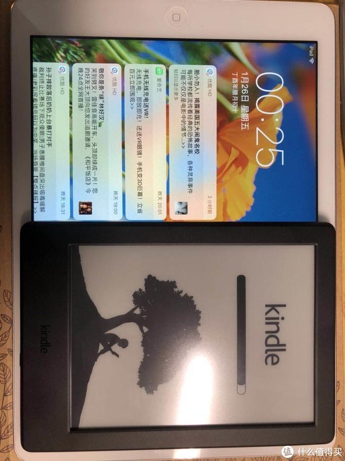 Kindle X 咪咕版 电子阅读器 开箱评测