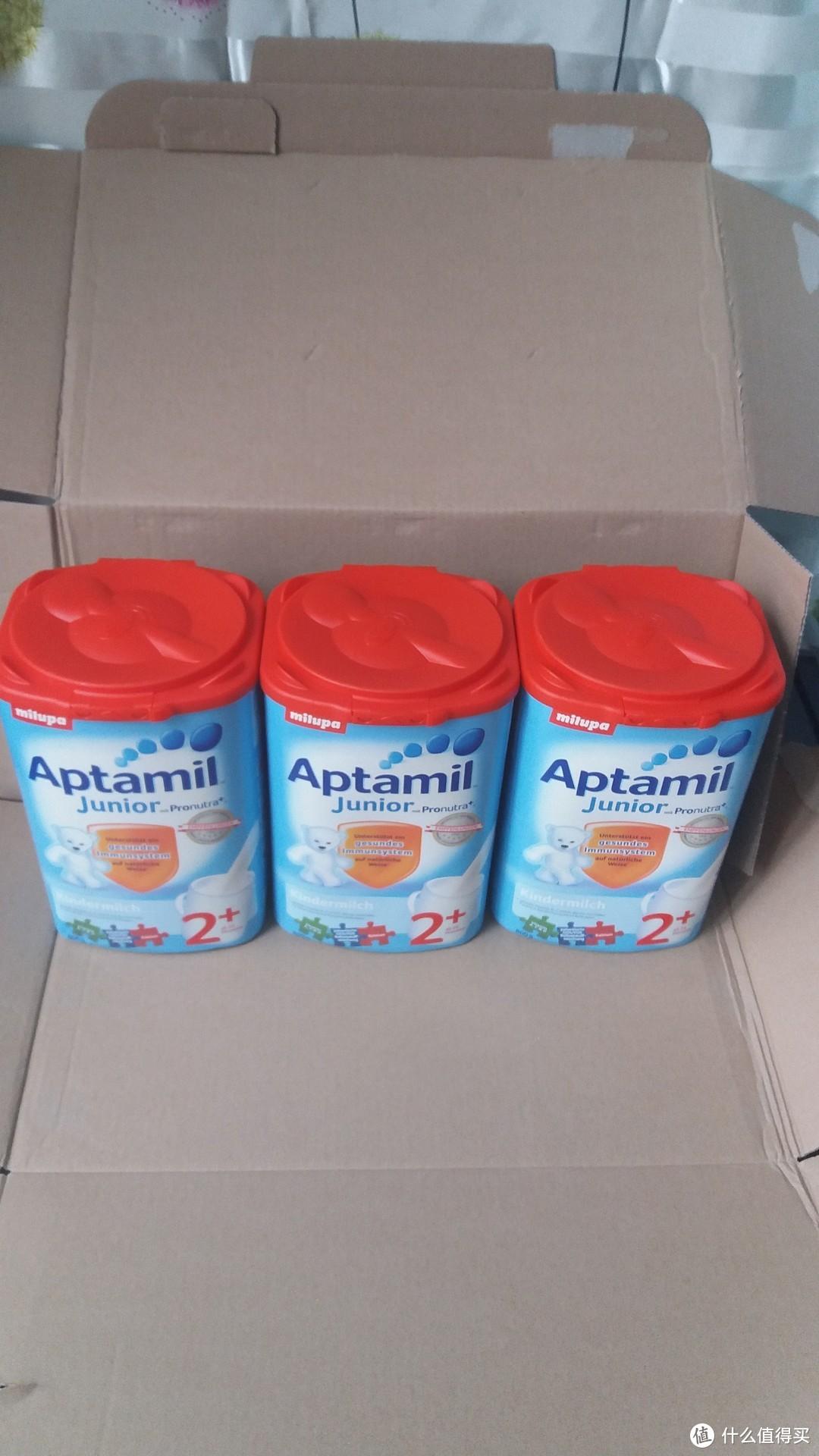 Aptamil 爱他美 奶粉(奥地利版2+) 开箱简评