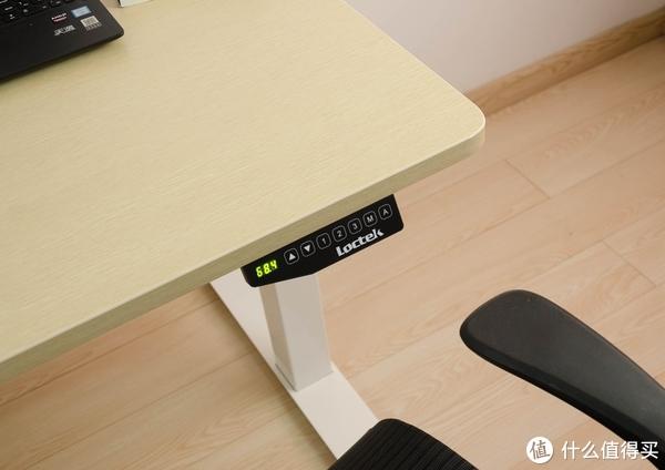 站着说话不腰疼,站着办公呢?谈谈坐站交替办公的感觉:Loctek 乐歌E3 电动升降桌 开箱