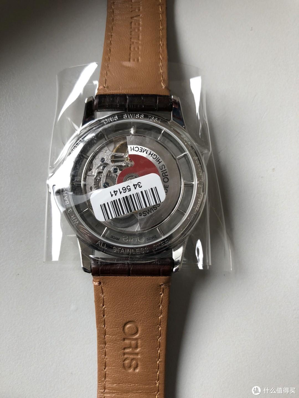 #原创新人#给自己的新年礼物:ORIS 豪利时 ARTELIER系列 机械腕表 开箱