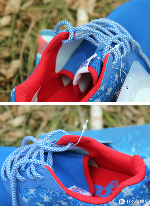 10岁男孩穿41码鞋的选择:LI-NING 李宁 漫威系列运动鞋 美国队长款(附去除脚臭好物分享)