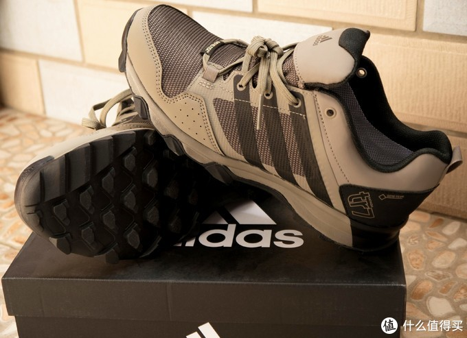 Adidas 阿迪达斯 KANADIA 7 TR GTX 男子户外鞋 开箱