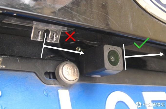 买的摄像头牌照灯支架,因为角度问题无法使用。