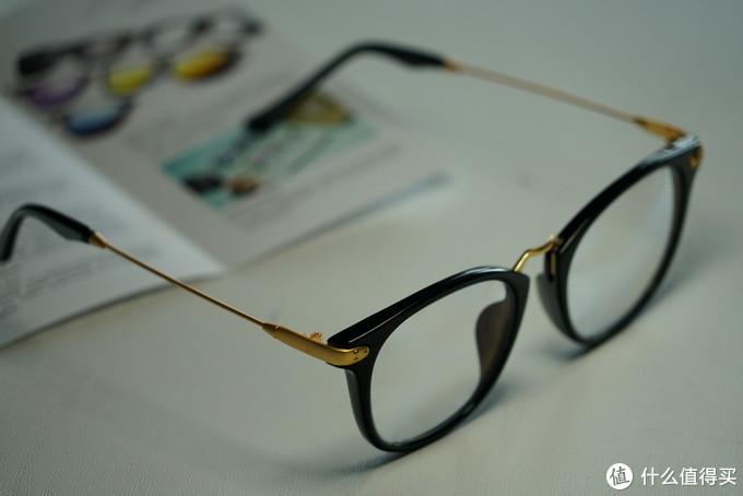 舒适的体验:INMIX 音米 防蓝光眼镜