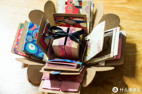#手作传情# 撩妹/汉必备——少女心爆炸的爆炸盒子制作教程!