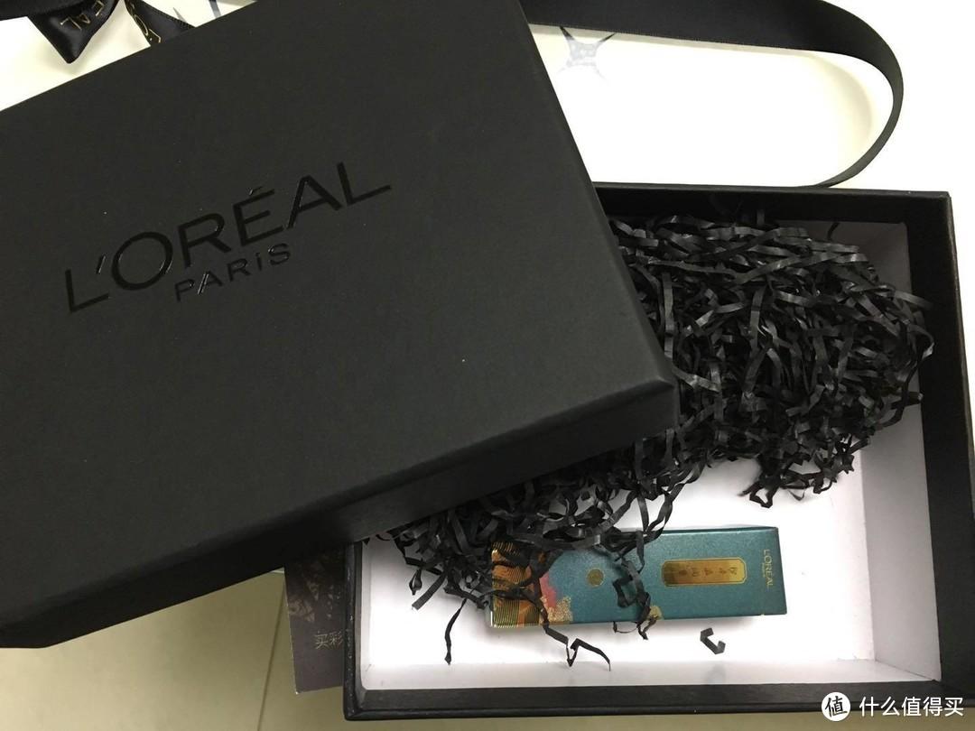 #原创新人#落雁倾城:L'OREAL PARIS 巴黎欧莱雅 RB301 国博限定版唇膏 开箱